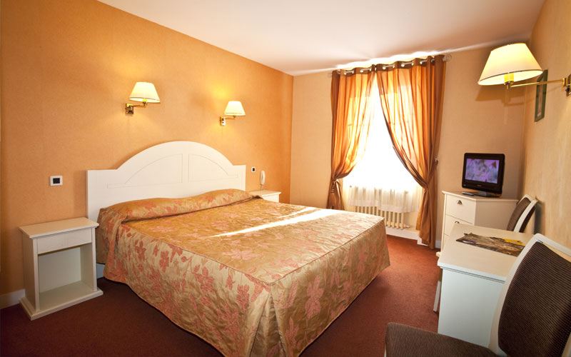 chambre hotel de l'Hôtel Plaisance
