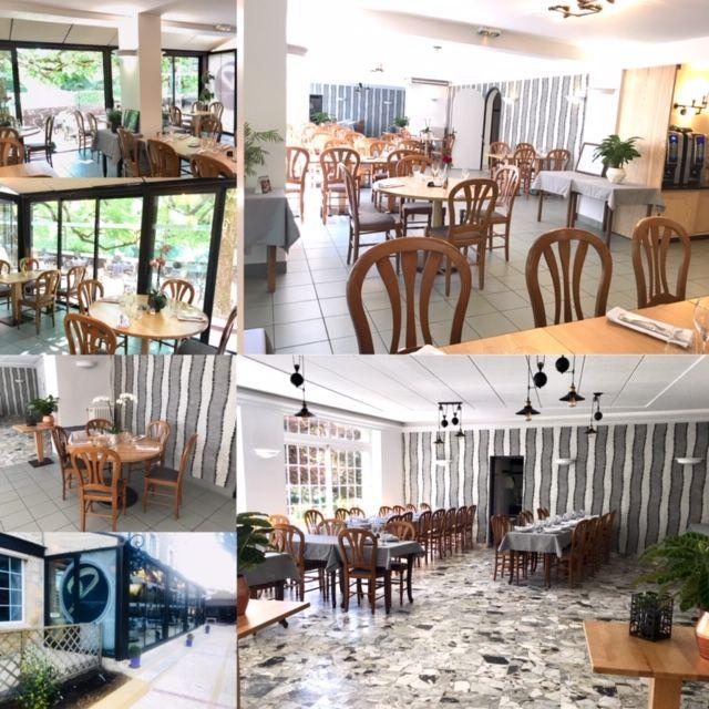 Les salles du restaurant